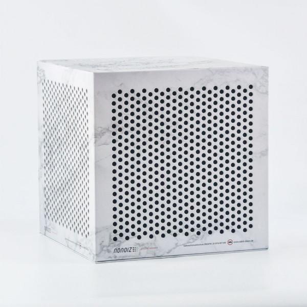 nonoiz cube 31 - white marble
